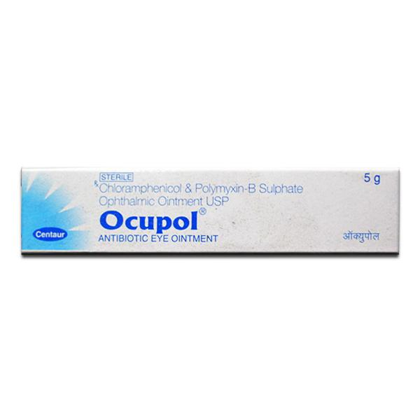Ocupol Eye Ointment 5gm